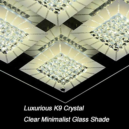 best sneakers beb41 8998b AUDIAN LED Crystal Ceiling Light Close to Ceiling Lights ...