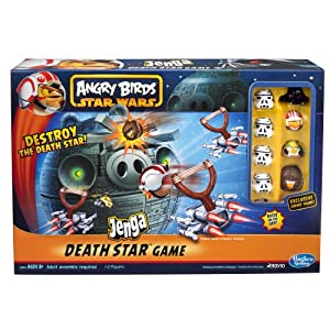 Angry Birds Star Wars Fighter Pods Jenga Death Star by Hasbro Games