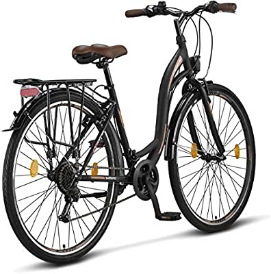 Licorne Bike Stella de 28 Pulgadas, Bicicleta Paseo, Bicicleta ...