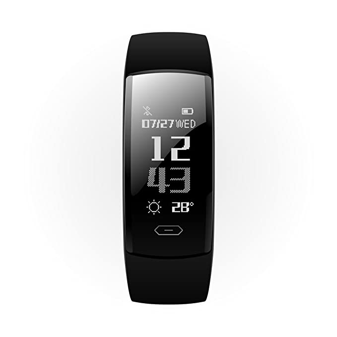 Cebbay Reloj Inteligente Ritmo cardíaco presión Arterial oxígeno Fitness rastreador Brazalete Deportivo Reloj led Podómetro: Amazon.es: Electrónica