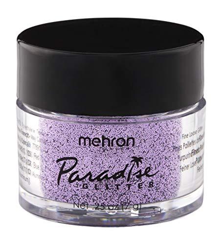 Mehron Makeup Paradise AQ Glitter (.25 ounce) (Pastel Lavender)