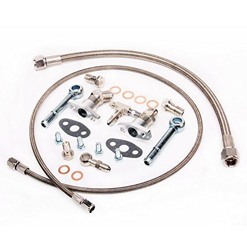 turbocharger oil line - 4