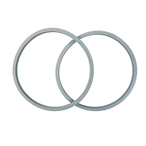 """2-pack 22cm(8.7"""") Compatible Sealing Ring Gasket for FISSLER Pressure Cooker Vitavit Bluepoint"""