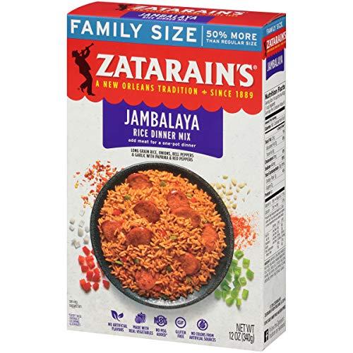 ZATARAIN'S Jambalaya Rice Dinner Mix, 12 oz