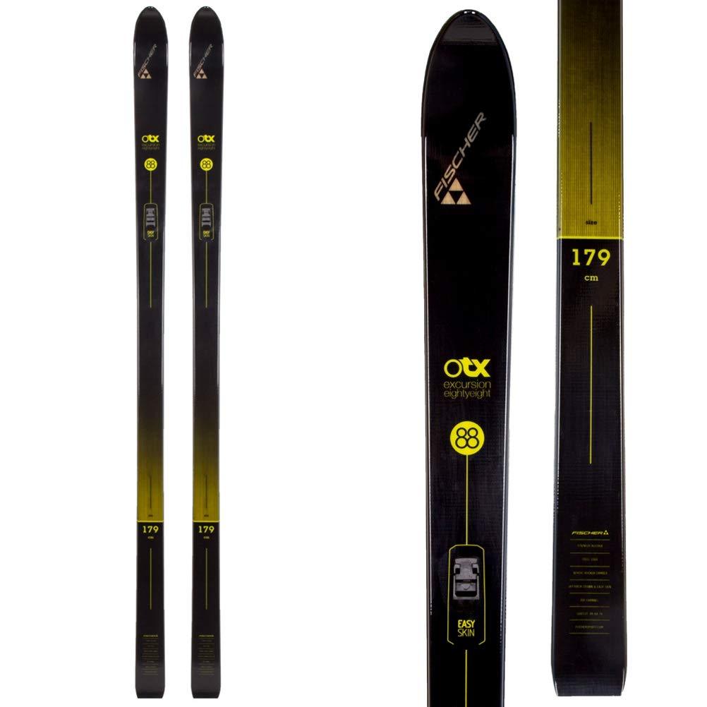 Fischer Excursion 88 Crown/Skin Cross Country Ski ブラック/イエロー 189cm