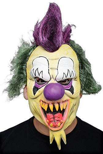 [Morbid Enterprises Killer Clown Mask, Multi-Color, One Size] (Halloween Clown Masks)