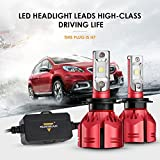 Auxbeam LED Headlights W Series H7 LED Headlight Bulbs with 2Pcs of Headlights 70W 7000lm Super Bright SMD LED Chips Fog Light - 2 Year Warranty
