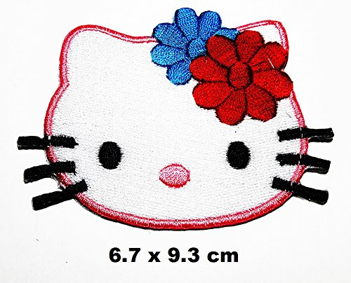 Hello Kitty cartoon patch Iron on Logo Vest Jacket cap Hoodie Backpack Patch Iron On/sew on patch - Hello Kitty Applique