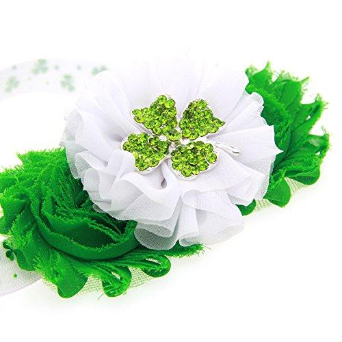 Shamrock St Patricks Day (St.Patrick Day Shamrock Stretch Hairband Irish Pride Baby Headband (Shamrocks Hairband))