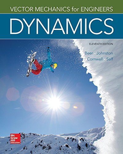 Vector Mechanics for Engineers: Dynamics (Mechanical Engineering) cover