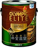 Olympic Stain 80110-1 Elite Woodland Oil Stain, 1 Gallon, Natural