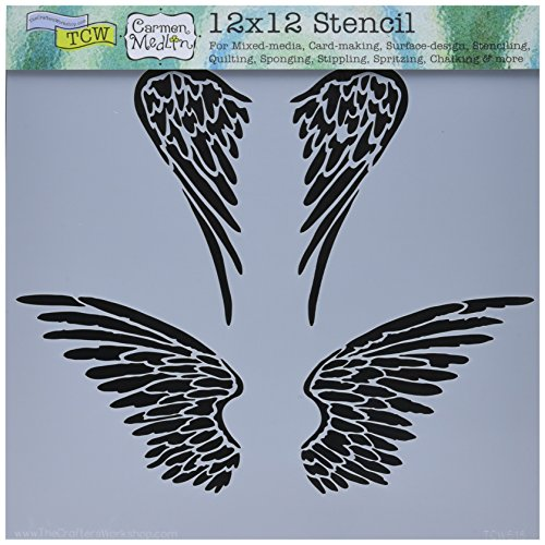 Crafters Workshop TCW616 Template, 12