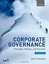 BOOK Corporate Governance: Principles, Policies, and Practices E.P.U.B