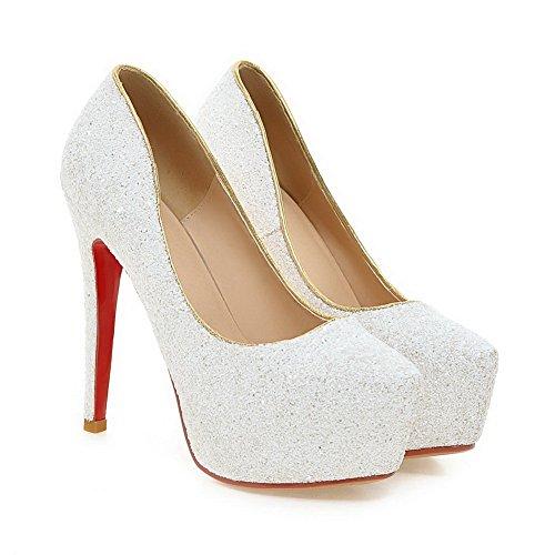 AdeeSu Para Blanco Blanco AdeeSu AdeeSu mujer mujer Plataforma Para Plataforma q4AHwH