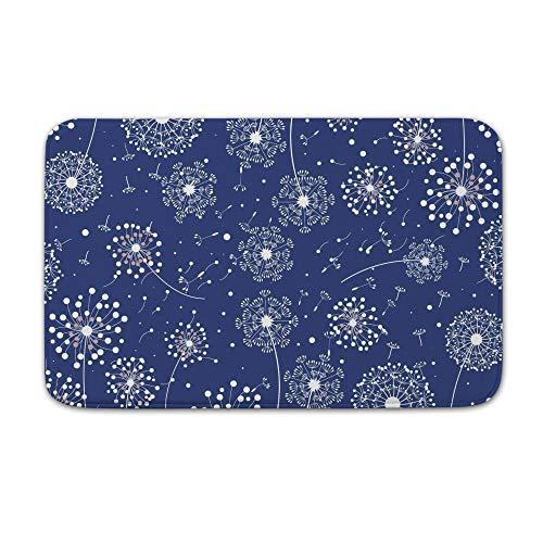 DKISEE Indoor Outdoor Entrance Rug Floor Mat Bathmat Make A Wish Blowball Pattern Doormat, 20
