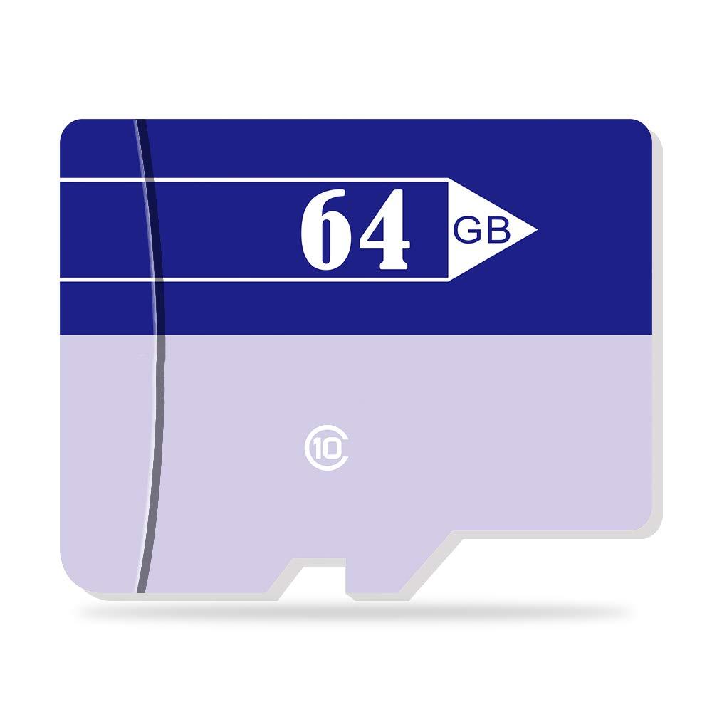 TALLA 64GB. ZP Tarjeta de Memoria Tarjeta TF Tarjeta Class10 Flash de Memoria para Tableta Smartphone (64GB)