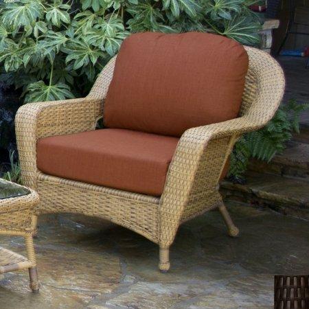 Tortuga Outdoor Garden Patio Lexington Club Chair - - Club Chair Tortuga Lexington