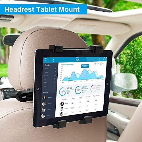 Headrest Backseat Universal Adjustable Rotating