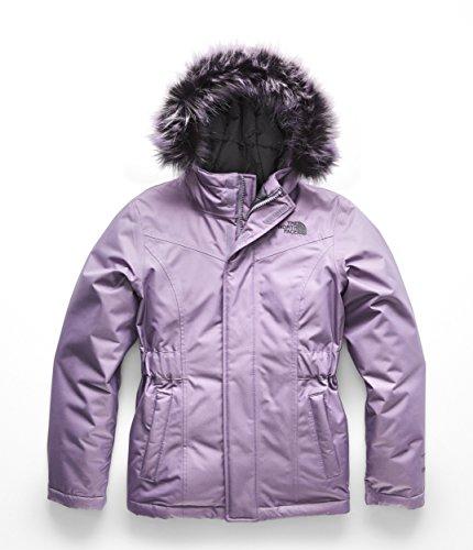 The North Face Kids Girl's Greenland Down Parka (Little Kids/Big Kids) Purple Sage Large