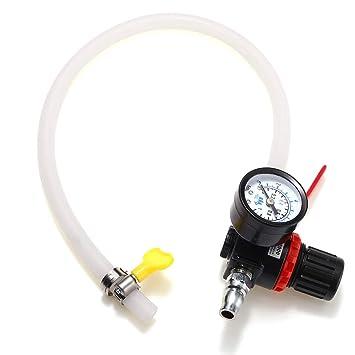 YONGYAO Auto Práctico Radiador De Presión De Fuga Probador De Agua Detector De Fugas Herramienta: Amazon.es: Hogar