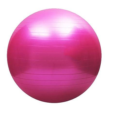 Pelota de pilates Vovotrade Balón de ejercicio, talla 75 cm (rosa ...