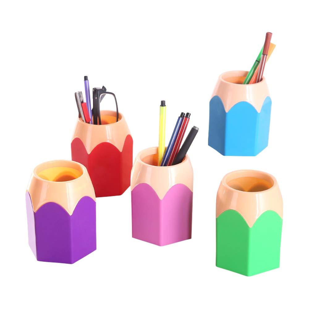scatola di immagazzinaggio matita ufficio per bambini XINGKEJI Simpatico portamatite per scuola a casa scrivania matita penna cancelleria organizzatore