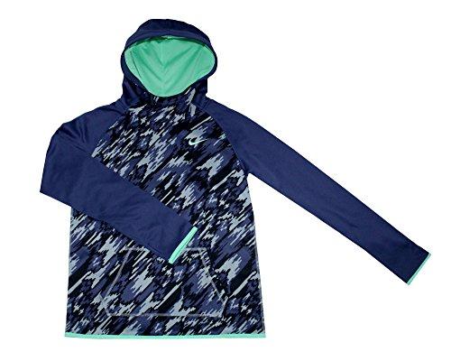Nike Youth Girls Therma-Fit Hoodie Athletic Hoody Shirt (XL (Island Kids Hoodie)