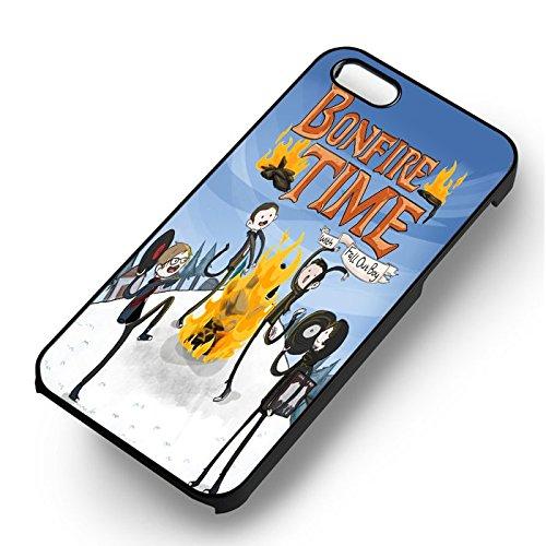 Bonfire Time pour Coque Iphone 6 et Coque Iphone 6s Case (Noir Boîtier en plastique dur) V4Q2GK