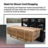 IDL Packaging CA-248 Strapping Cart & Dispenser for