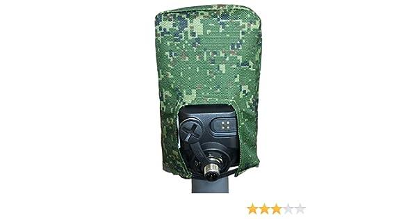 Estuche de cubierta de suciedad para caja de control Minelab Equinox 600 800 (Pixel): Amazon.es: Jardín