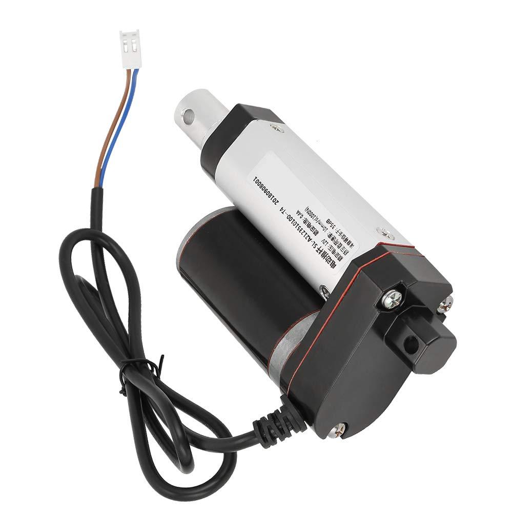 Tige de Levage /Électrique. Garsent Actionneur Lin/éaire DC 12V 1000N 10mm // s 35mm Ligne Droite /à Haute R/ésistance Actuato Lin/éaire /Électrique pour Lit M/édical /Électrique Sofa /Électrique
