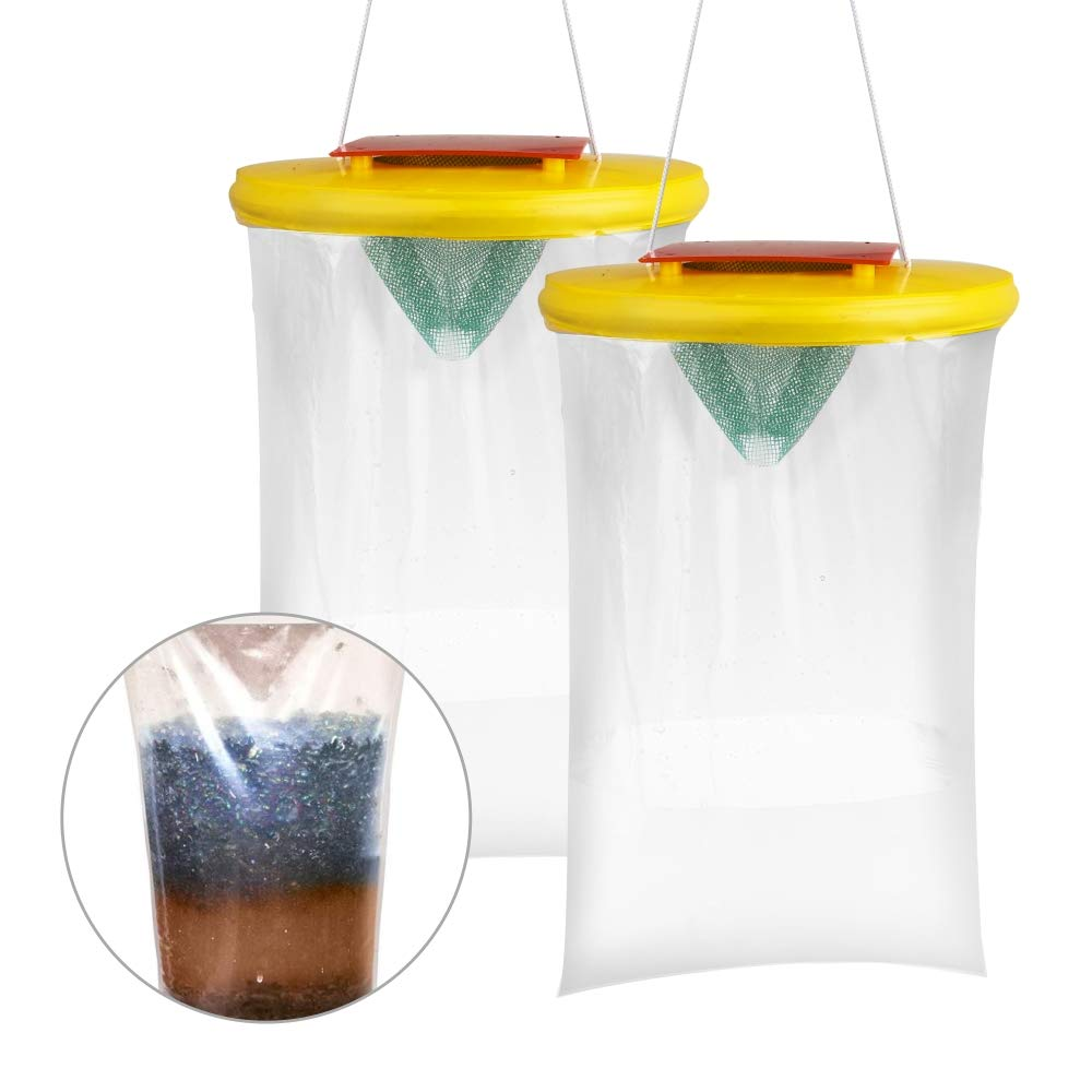 Haimist Red Top Fly Trap ( 2Traps)