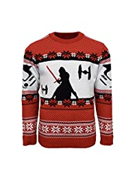 Numskull Official Star Wars Kylo Ren Christmas Jumper/Ugly Sweater