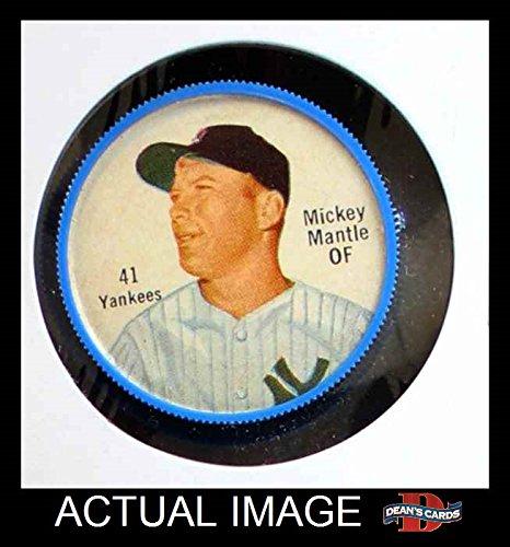 1962 Salada Coins # 41 Mickey Mantle New - Salada Baseball Coins Shopping Results