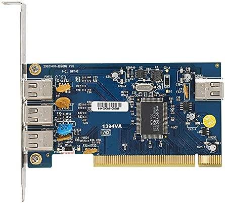 ASHATA Tarjeta PCI de Captura de Video, 4 Puerto 1394 ...