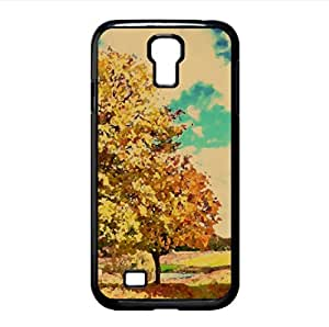 Beautiful Autumn Day Watercolor style Cover Samsung Galaxy S4 I9500 Case (Autumn Watercolor style Cover Samsung Galaxy S4 I9500 Case)