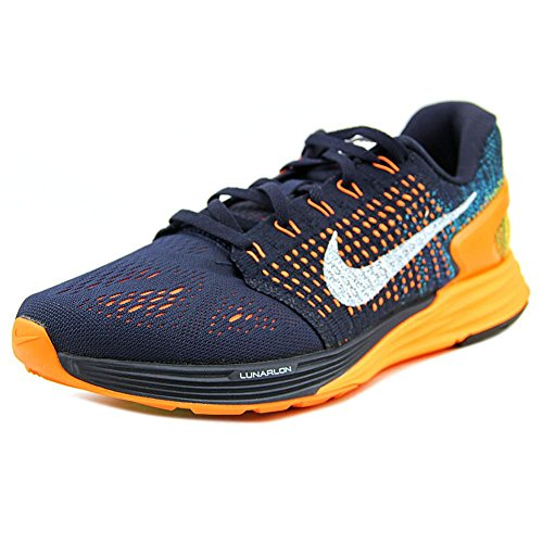Nike Lunarglide 7 Zapatillas de running, Hombre Azul