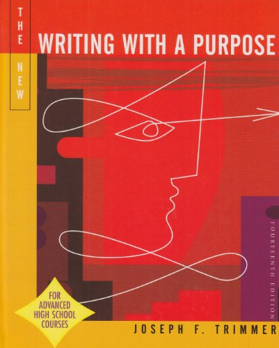 Writing With A Purpose Ap Version 14th Edition