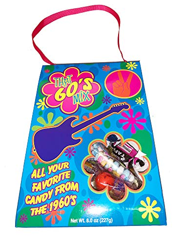 Crystal Temptations Nostalgia Candy Mix! 8 Oz Retro Bag Each! Assorted Vintage Candies! Choose From 60's, 70's, 80's or 90's! All Your Favorite Classic Candy! (60's) -