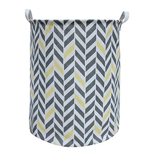 FarJing Waterproof Sheets Laundry Clothes Laundry Basket Storage Basket Folding Storage Basket Storage ()