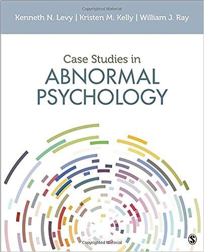 Amazon com: Case Studies in Abnormal Psychology (9781506352701