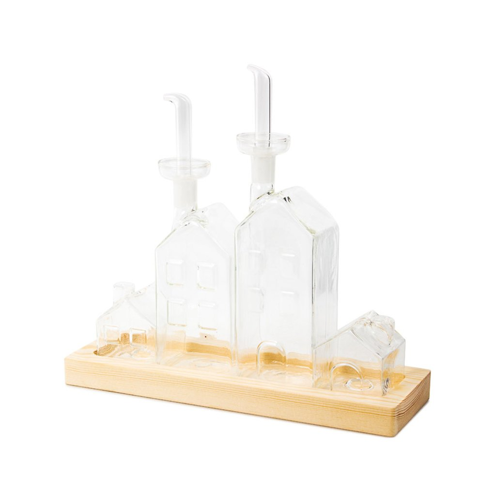 Balvi-Oil-vinegar-salt&peppersetLaVilleglass Balvi Gifts S.L.