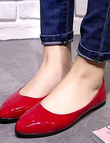 carrera oficina PDX Flats caliente mujer la rojo uk7 zapatos eu40 de negro y venta comodidad us9 talón amarillo blanco plano Libo yellow cn41 estilo casual nuevo xx7ZprOwq