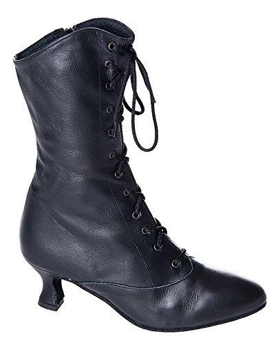 Rumpf stivaletti CanCan 2316 stivaletti da ballo stivaletti di carnevale scarpe carattere scarpe da ballo nero