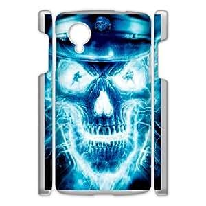 Custom Case Skull For Google Nexus 5 Q9V141868