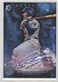 #8: Gleyber Torres #1/99 (Baseball Card) 2016 Bowman Inception - Prospect Autographs - Blue #PA-GT
