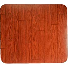 "Non-UL Lined Stove Board 28 x 32"" (Walnut Woodgrain)"