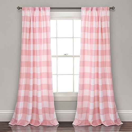 Lush Decor 16T002420 Window Curtain Panel, 84