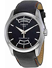 Couturier Automatic Black Dial Mens Watch T035.407.16.051.03
