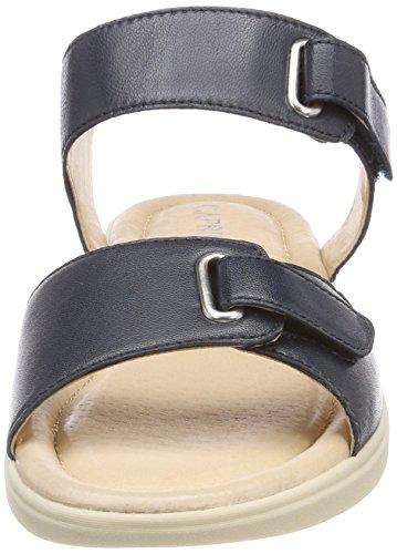 Caprice Damen 28600 Slingback Sandalen Blau (Ocean Nappa 855)